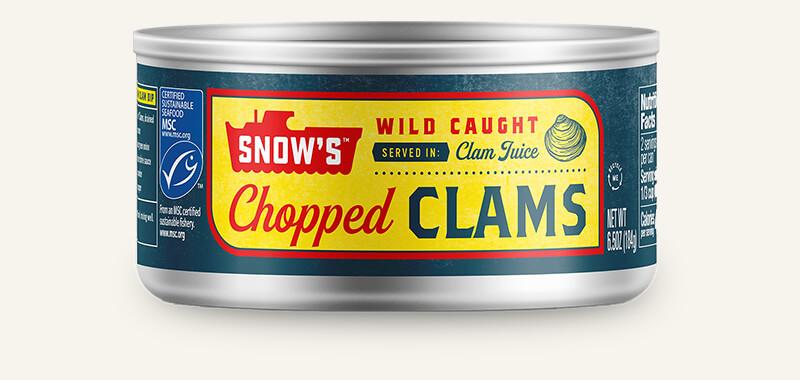 SNOW'S® CHOPPED CLAMS