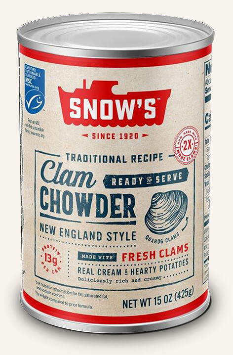 We're pretty passionate about clam chowder.