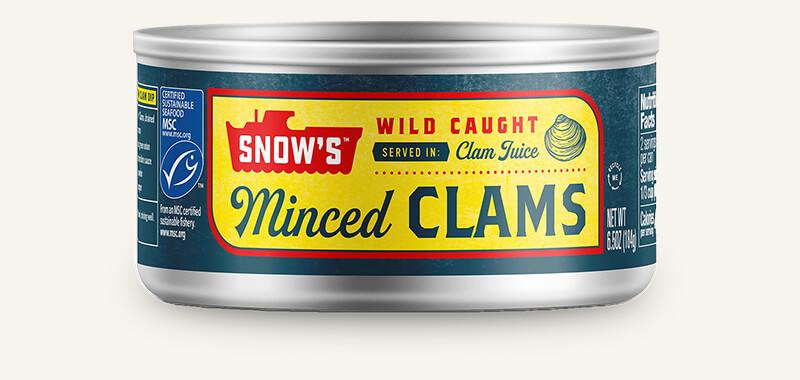 SNOW'S® MINCED CLAMS